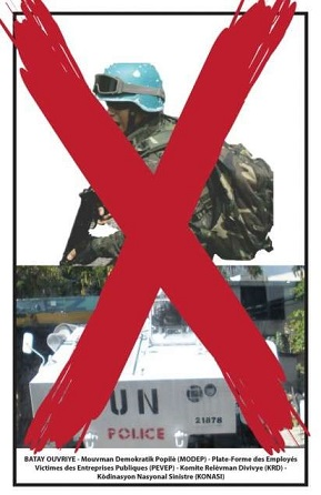 Haitian everywhere: One hundred years of foreign dominance is enough!